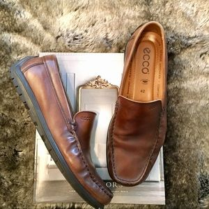 Ecco Men's Driving Moc Loafers Wore1X 42 $170